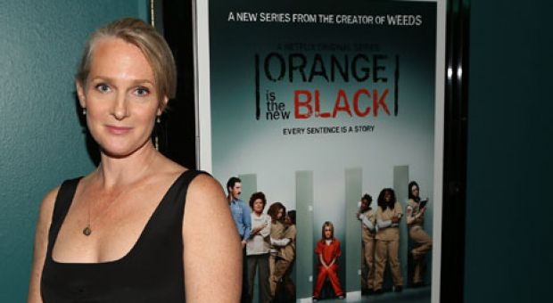 Author Piper Kerman attends the Netflix Presents 'Orange Is The New Black' Special Screening at AMC Loews Broadway 4 on June 17, 2013 in Santa Monica, California.