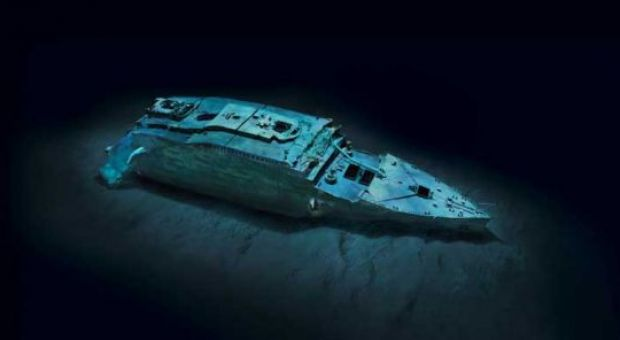 3-D Image of The Titanic